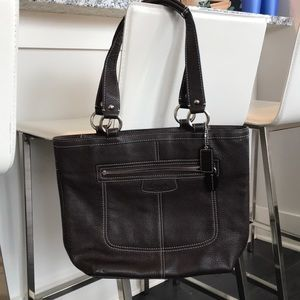 Brown Coach bag like new